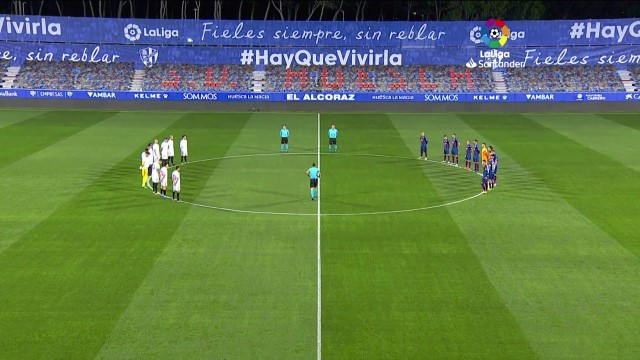 Spain: La Liga pays tribute to Maradona with minute's silence