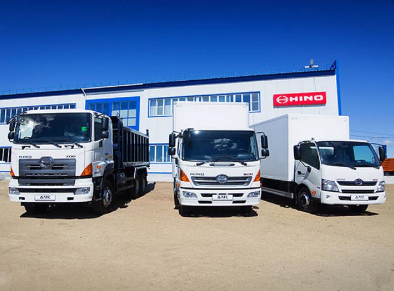 Купить грузовик Hino у официального дилера