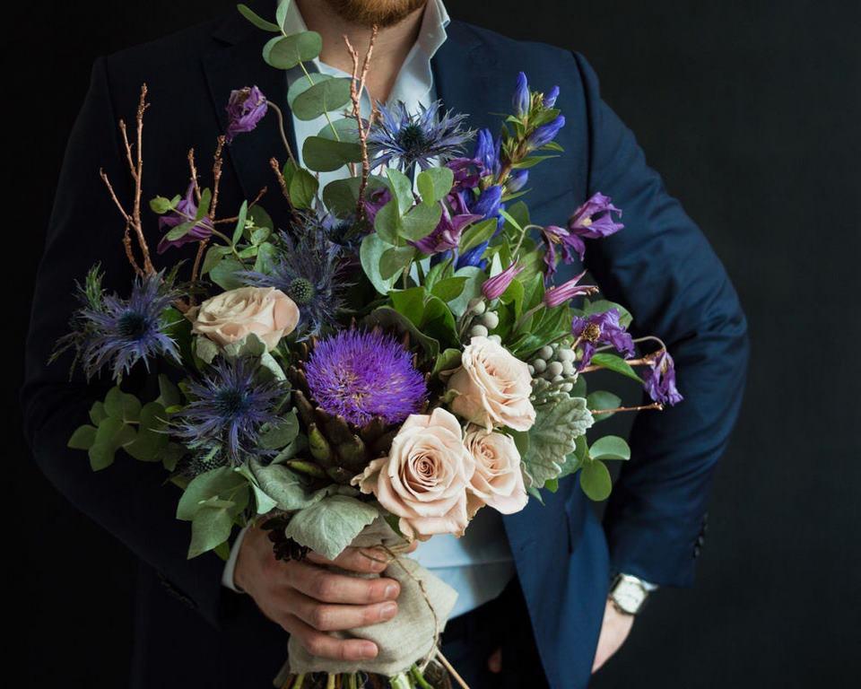 Как выбрать букет цветов для мужчины