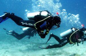 Виды снаряжения для подводного плавания