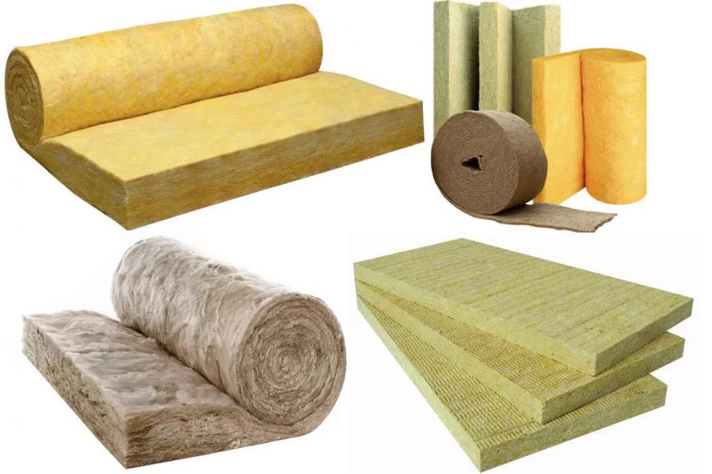 Виды изоляционных материалов