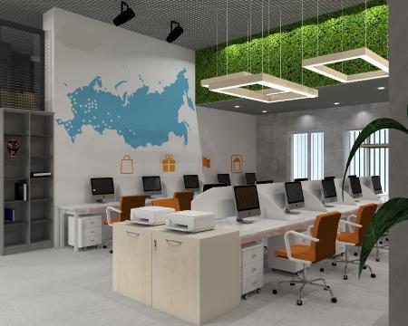 Дизайн проект офиса компании