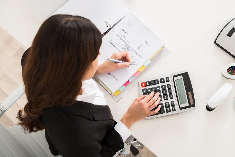 Услуги бухгалтера для строительной компании